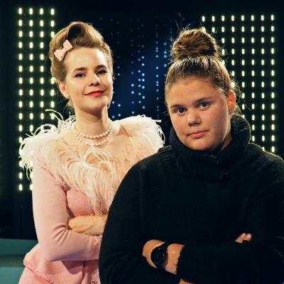 Ina Mikkola ja Jasmiina Saario