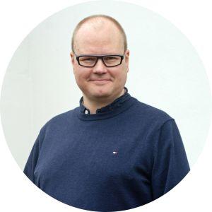 Tuottaja Mika Salomaa.