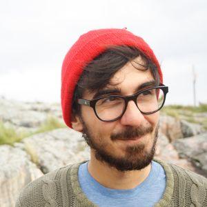 Adrian Perera på Klovharun.