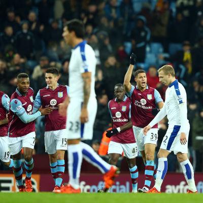 Aston Villa gjorde en strålande andra halvlek och kvitterade.