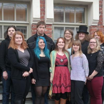 Folkloristklassfoto