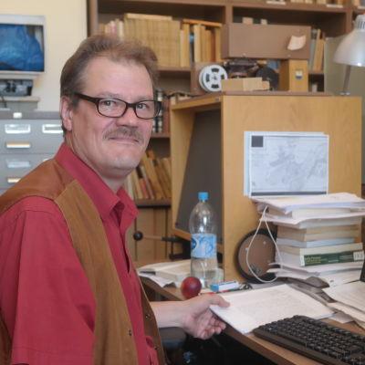 Historieforskare Veli-Pekka Toropainen