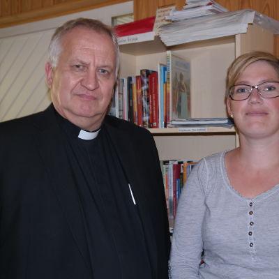Harry S Backström och Heidi Lindqvist