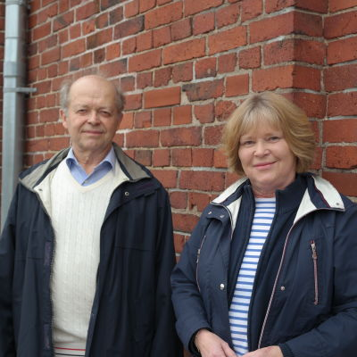 Leif Westerén och Solveig Basilier
