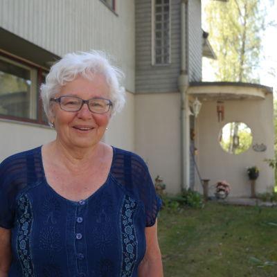 Kristina Kurtén är aktiv inom Tarmcancerföreningen Colores
