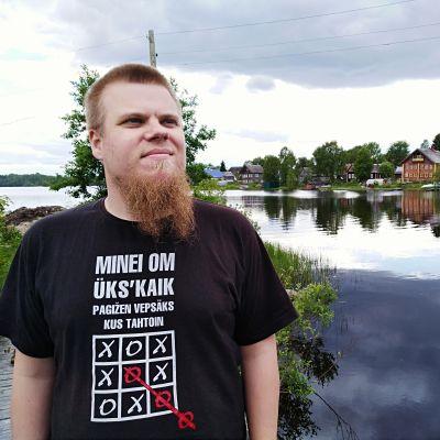Kieliaktivisti Jani Koskinen