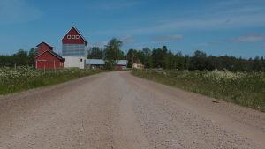 Palolaistentie i Virmo norrut från Kanax