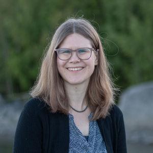 Författaren Ann-Sofi Carlsson.