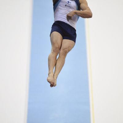 Gymnast, hopp