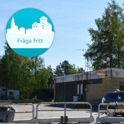 Pargas taxistation