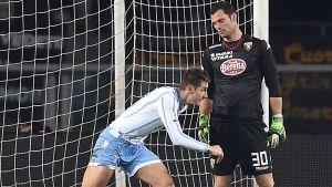 Miroslav Klose gör mål i Coppa Italia