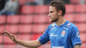 Erik Törnros spelade tidigare för PS Kemi.
