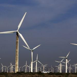 Kina har redan i flera år producerat mest vindkraft i världen.