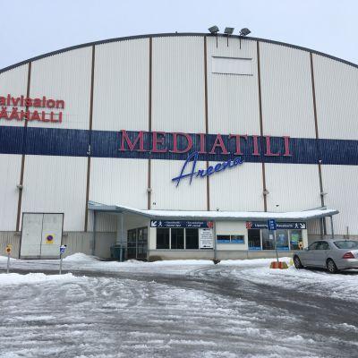 Talvisalon jäähalli Savonlinnassa 19. maaliskuuta 2019