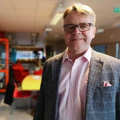 Kristillisdemokraattien kansanedustaja Peter Östman.