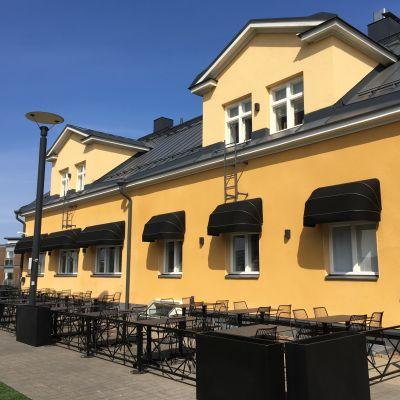 Ravintola Aittaranta Joensuun Penttilänrannassa.