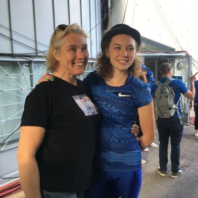 Ringa Ropo ja Ella Junnila Paavo Nurmi Games