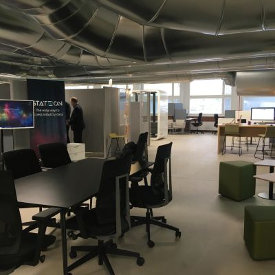 StartHub -keskus Lahden ammattikorkeakoulussa