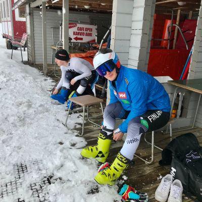 Turo Torvinen ja Elian Lehto