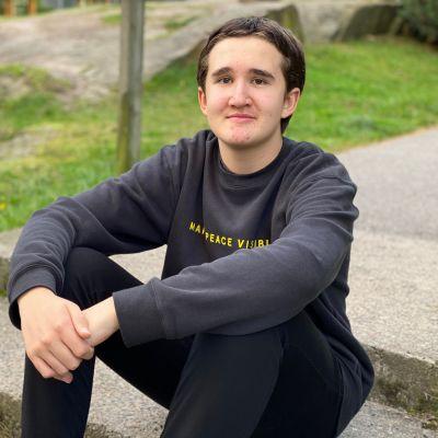 Oskari Santalahti on 15-vuotias koululainen Espoosta.