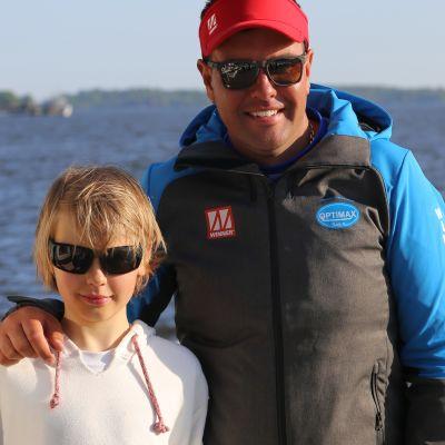 Kim-Oskar Godenhielm representerar Finland i optimist-VM