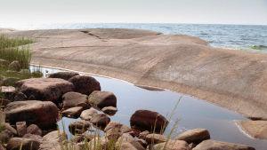rantakalliota Ahvenanmaalla