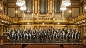 Perinteinen uudenvuoden konsertti Wienistä.