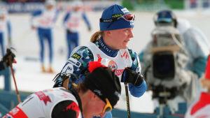 Virpi Kuitunen Lahden MM-kisoissa 2001