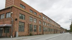 F.d Wärtsiläs byggnad längs Järnvägsgatan