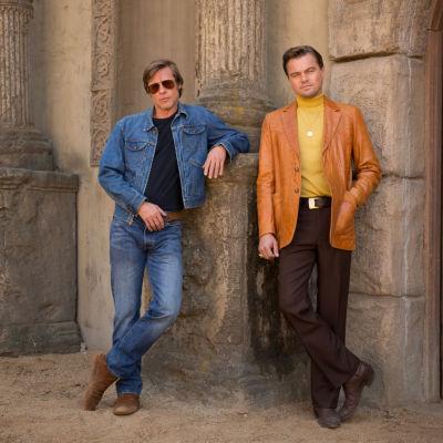 Brad Pitt och Leonardo DiCaprio.