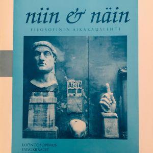 Niin & Näin -lehden sininen kansi vuodelta 1994