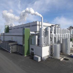 Metsä Boards fabrik i Kaskö.