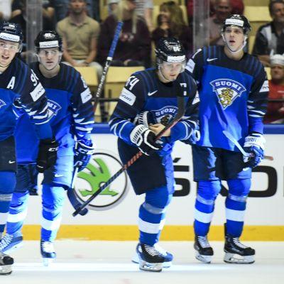 Finland möter Schweiz i torsdagens sena kvartsfinal.