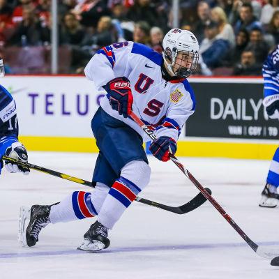 Jack Hughes är framtidens namn i ishockey.