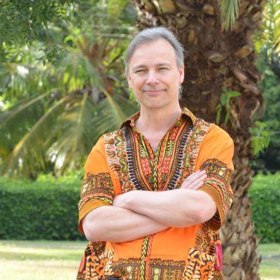 Porträtt på forskaren Per Ashorn.