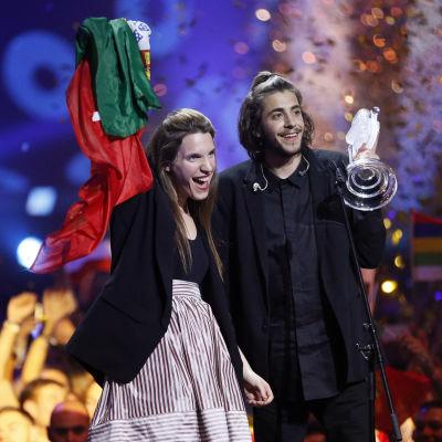 Luisa och Salvador Sobral.