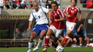 Anne Mäkinen, Finland-Danmark 2006.