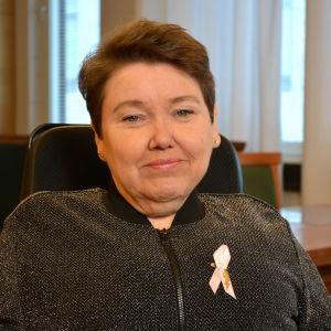 Porträtt av Carola Lithén.