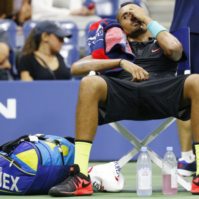 Nick Kyrgios i US Open 2015.
