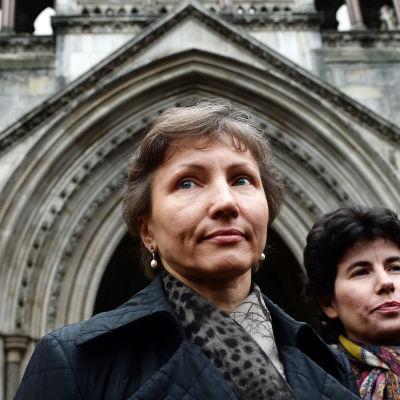 Marina Litvinenko, änka till den mördade spionen Alexandr Litvinenko.