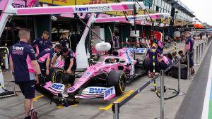 Formel 1-bil i Australien.