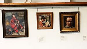 Akseli Gallen-Kallela: Tre porträtt från 1910-talet