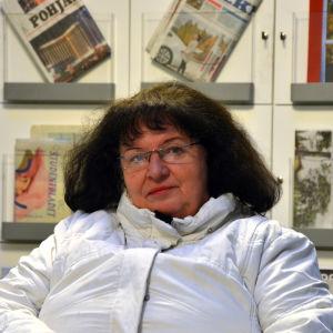 Porträtt Maj-Britt Martin.