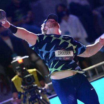 Ryan Crouser oli tulostasoltaan yksi yleisurheilukauden väriläiskistä.