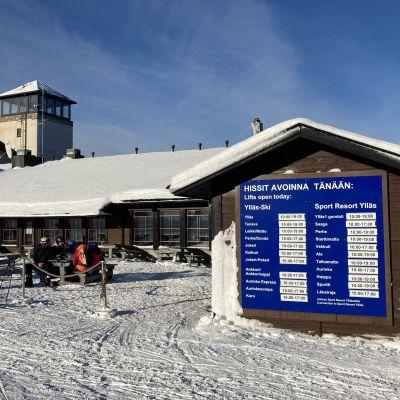 Ylläksen hiihtokeskuksen kahvila