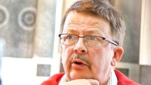 Kommunstyrelseordförande Rainer Bystedt i Vörå