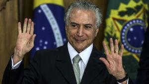 Brasiliens ställföreträdande president Michel Temer.