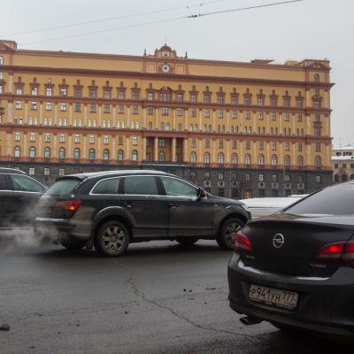 FSB:s högkvarter i Moskva i januari 2017