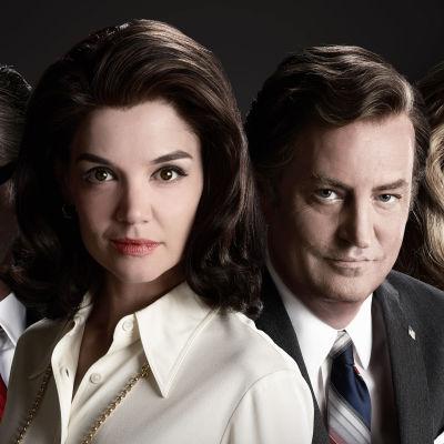 Uusi draamasarja Kennedyt – kun Camelot murtui jatkaa legendaarisen perheen traagista tarinaa.