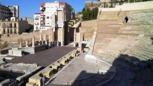 Riimalaiset rauniot Carthagenan kaupungissa